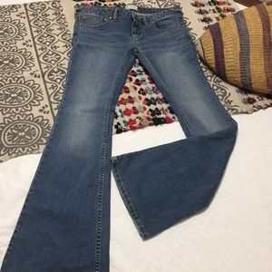 Free People Bell bottom jeans